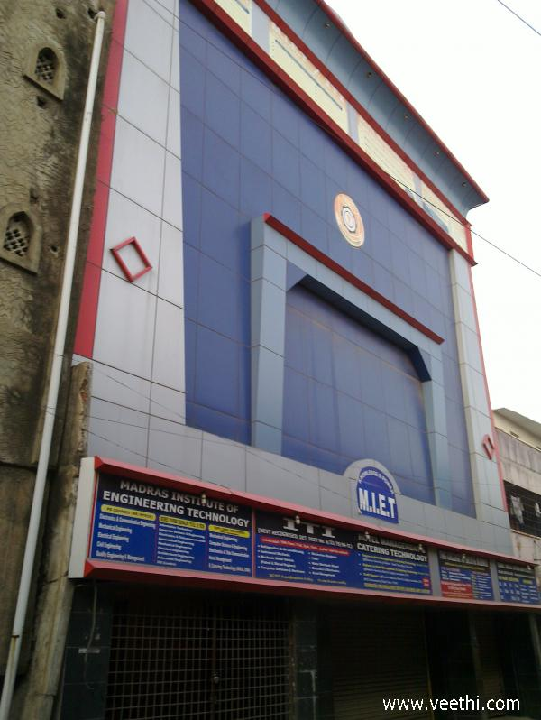 Kikam Technical Institute Home: Madras Institute Of Engineering Technology, Kodambakkam