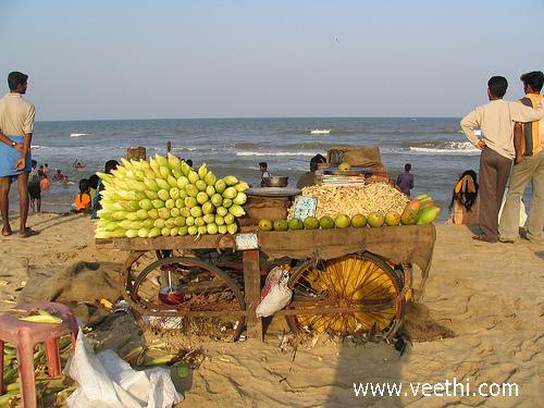 Chennai Besant Nagar Beach Veethi