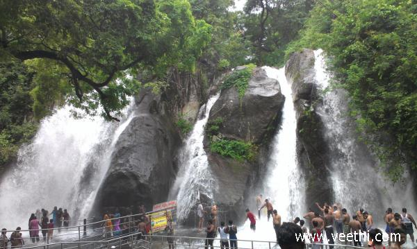 courtallam-five-falls-aintharuvi