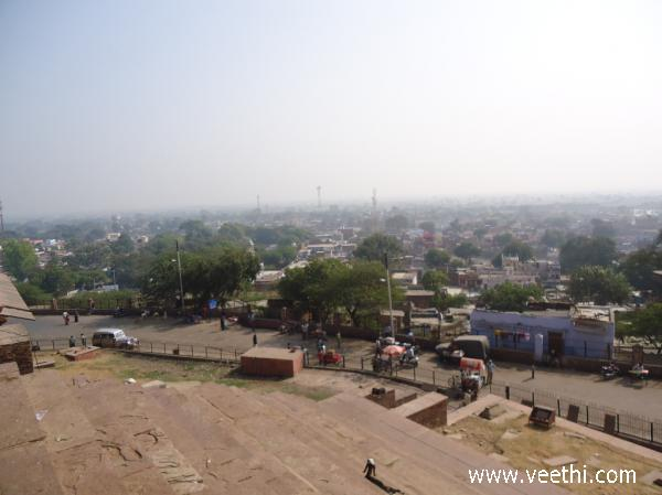view-of-fatehpur-from-the-fort