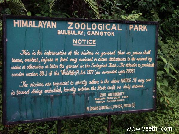 signboard-at-himalayan-zoo-gangtok