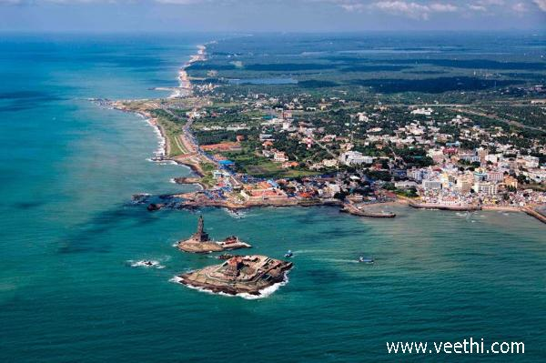 aerial-view-of-kanyakumari