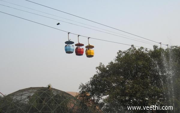 rope-way-from-science-city-kolkata
