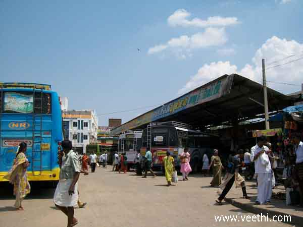 arignar-anna-bus-stand-in-kovilpatti-in-thoothukudi-District