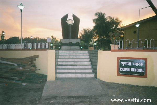 an-evening-in-tsunami-memorial-port-blair
