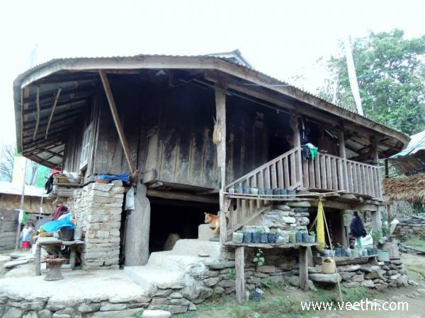 bhutia-tribal-house