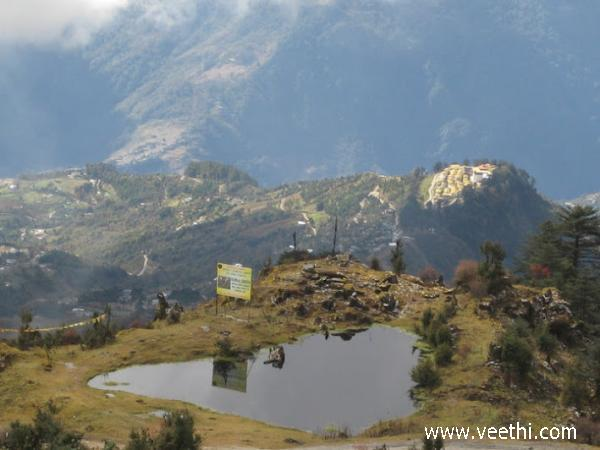 lake-and-hill-view-from-monastery-tawang